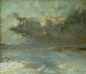 Oil on linen, 2000